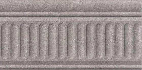 Бордюр Александрия серый структурированный - главное фото
