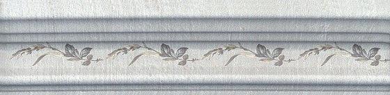 Бордюр Багет Кантри Шик серый декорированный - главное фото