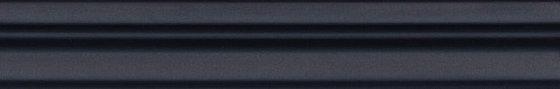 Бордюр Багет Тропикаль чёрный обрезной - главное фото