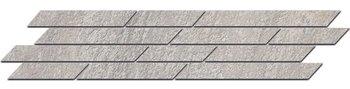 Бордюр Гренель серый мозаичный-5170