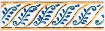 Бордюр Капри майолика-6912