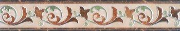 Бордюр Мраморный дворец лаппатированный-6464