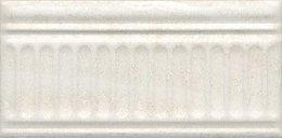 Бордюр Олимпия беж светлый структурированный