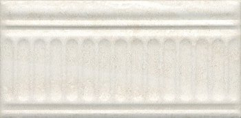 Бордюр Олимпия беж светлый структурированный-5606