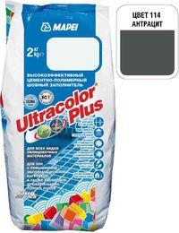 Затирка Ultracolor Plus №114 (антрацит) 2 кг.
