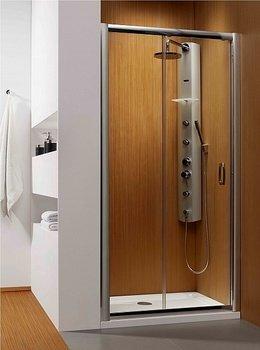 Душевая дверь Premium Plus DWJ 110*190 хром/прозр 33302-01-01N-15443