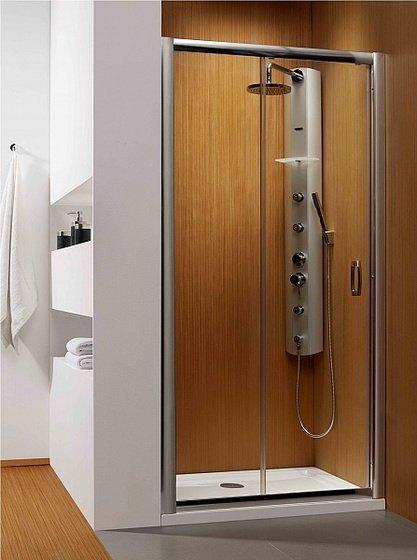Душевая дверь Premium Plus DWJ 110*190 хром/прозр 33302-01-01N - главное фото