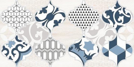 Декор Мореска синий - главное фото