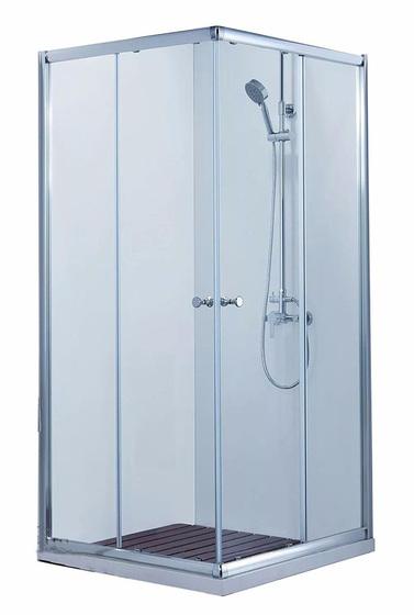Душевое ограждения (без поддона), две раздвижные двери BS090.2200A DROP - главное фото