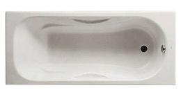 Ванна чугунная Roca Malibu 170х75 без отверстий под ручки