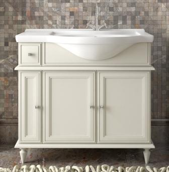 Мебель для ванной Санрайз 90 правый Слоновая кость Opadiris-13281