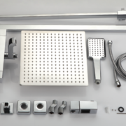 Душевая система с термостатом A2420 хром Faop-11020