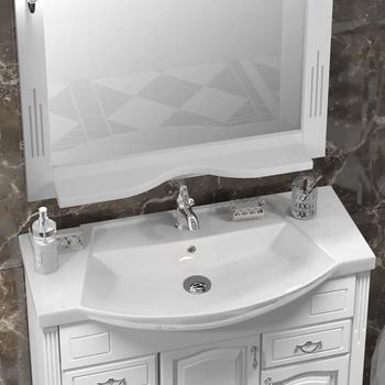 Мебель для ванной Риспекто 95 Белый матовый Opadiris-13161