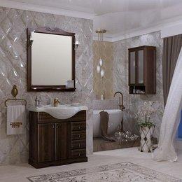 Мебель для ванной Клио 80 Орех антикварный
