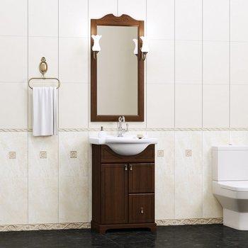 Мебель для ванной Клио 50 Орех антикварный Opadiris-10844
