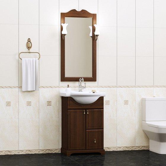 Мебель для ванной Клио 50 Орех антикварный Opadiris - главное фото