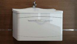 Тумба с раковиной IVA 65 белый  подвесной