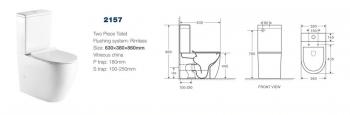 Унитаз компакт CS2157A -21566