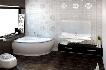 Ванна NAVIGARE 1740×1120(1180)×700 мм -11330