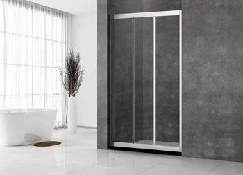 Душевая дверь раздвижная 1200х1950 стекло прозрачное 5 мм VN31-120-01-C5-19817