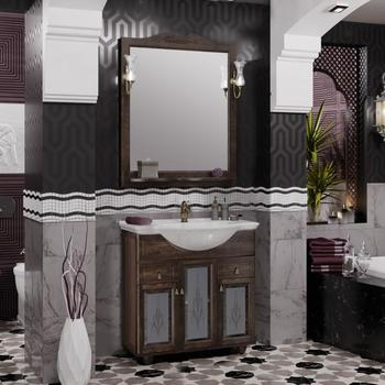 Мебель для ванной Тибет 70 Орех антикварный Opadiris-13265