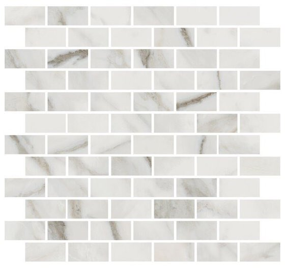Декор Буонарроти белый мозаичный - главное фото
