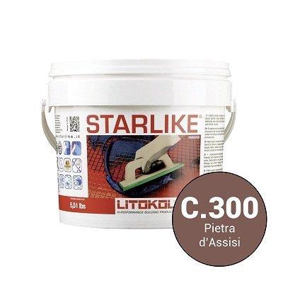 Эпоксидная затирка Starlike Defender C.300 P.Assisi антибактер. 1 кг