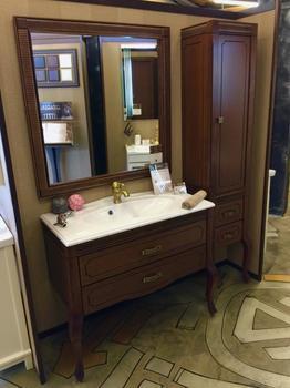 Мебель для ванной Фреско 100 Светлый орех Opadiris-13191