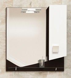 Шкаф-зеркало LAMBO 70, венге - главное фото