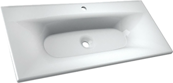 Мебель для ванной Капри 80 Белый Opadiris-13254