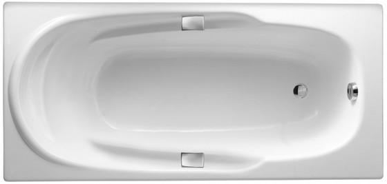 Ванна ADAGIO 170 Х 80 с отверстиями для ручек (E2910-00) - главное фото