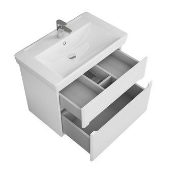 Тумба Nyborg80, 2 ящика, белая OW06.03.00-17571