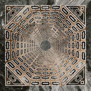 Декор Арката серый тёмный лаппатированный-12963