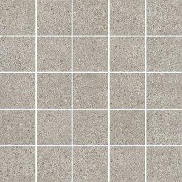 Декор мозаичный Безана серый