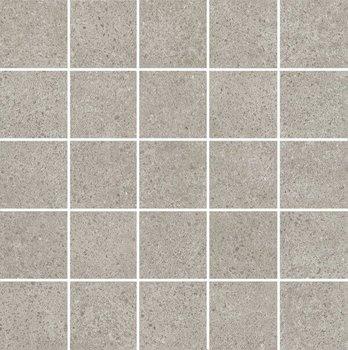 Декор мозаичный Безана серый-12225