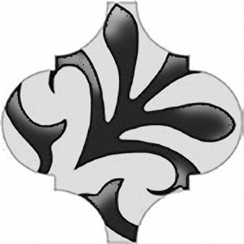 Декор Арабески глянцевый орнамент-4589