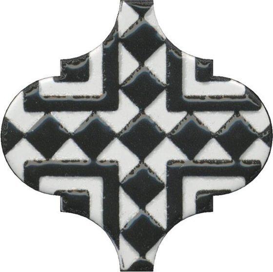 Декор Арабески глянцевый орнамент - главное фото