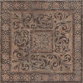 Декор Бромли коричневый-8754