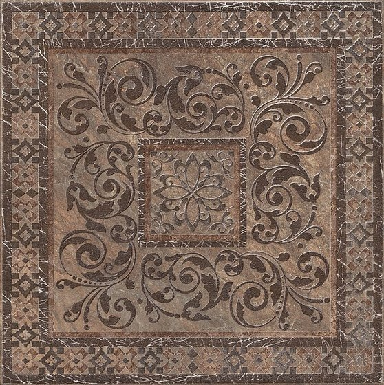 Декор Бромли коричневый - главное фото