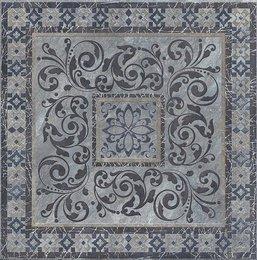Декор Бромли серый тёмный