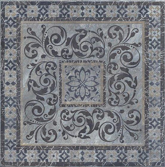 Декор Бромли серый тёмный - главное фото