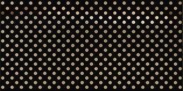 Декор Этуаль чёрный, 7,4*15