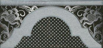 Декор Фрагонар чёрный-5617