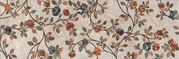 Декор Гран-Виа цветы обрезной-4311