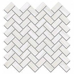 Декор Контарини белый мозаичный