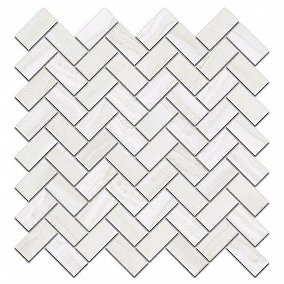 Декор Контарини белый мозаичный - главное фото