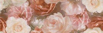Декор Контарини Цветы обрезной-5851