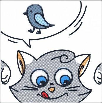 Декор Кошки-Мышки. Птичка-3901