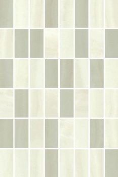 Декор Летний сад фисташковый мозаичный-6154