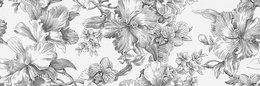 Декор Монфорте Цветы обрезной